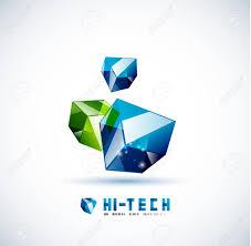 Cube Design Template Modern 3d Glass Cube Design Template