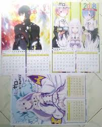 Tv movie ova ona special music belum diketahui. Jual Kalender Anime 2018 Poster A3 Di Lapak Mrgexshop Bukalapak
