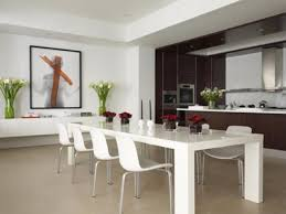 Kitchen And Dining Room Design Mesmerizing Kitchen Table Decorating Ideas Highest Clarity Cragfont