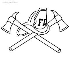 Small Picture LEGO Firefighter Coloring Pages firefighter hat colouring pages