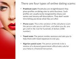 pics of online dating scams