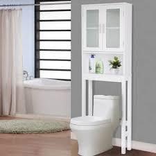 bathroom storage furniture. Costway Wooden Over The Toilet Storage Cabinet Spacesaver Organizer Bathroom Tower Rack Furniture Y