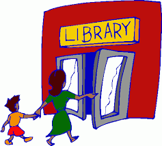 Image result for library cartoon images