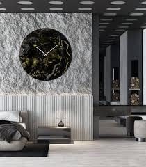 extra large clock modern wall lighting