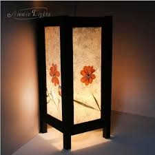 japanese bedside lamps 82 best japanese lamps shoji and washi paper images on