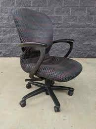 Vintage Haworth Improv Task Chair Designed by Steve Nemeth RETRO w BAD  HYDRAULIC | eBay