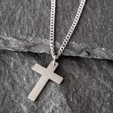 engraved cross necklace custom cross necklace personalize cross necklace mens cross necklace religious necklace necklace