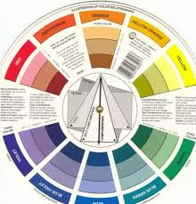 Usually, I like to go to the complimentary colors when it comes to  clothing. You pick any color on the color wheel and go to the direct  opposite.