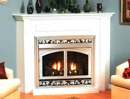 gas fireplace fumes vent gas fireplace odor