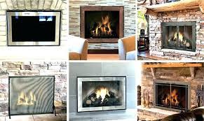 clean fireplace glass clean fireplace glass with ash