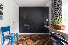 office chalkboard. Chalkboard Accent Wall For The Modern Home Office E