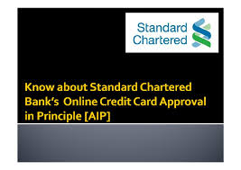Standard Charted Online Credit Card Payment Standard Chartered Bank Benefits Of Online Credit Card Aip