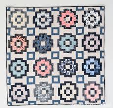 Introducing The City Tiles Quilt Pattern - Quilty Love & Essex Linen City Tiles Quilt Adamdwight.com