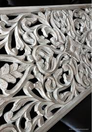 startling carved wood wall decor house interiors white panel hometalk antique balinese panels decorations