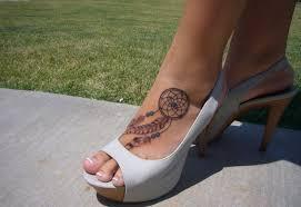 Dream Catcher Foot Tattoo Dreamcatcher Tattoo Ankle Dreamcatcher Tattoo On Ankle Pictures 60