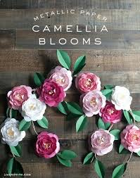 Paper Flower Templates Free Download Floral Paper Template Free Paper Flower Templates Download