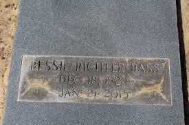 Bessie Richter Richter Bass (1924-2015) - Find A Grave Memorial