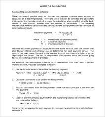 amortization formulas amortization formula dc design