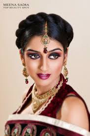 indian stani bridal makeup by meena sadia ms studio toronto bridal makeup artist and hair stylist