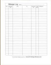 Trip Sheet Truck Driver Daily Co Printable Mileage Log Pdf