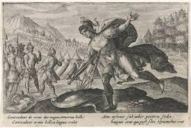 Zelfmoord Van Ajax Metamorfosen Van Ovidius Passe Crispijn Van