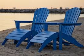 adirondack chairs on beach. The Only Way To Really Kick Back And Relax In This Adirondack Is Put  Your Feet Up On Matching Ottoman. Built Last For Years Come. Adirondack Chairs Beach