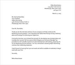 How To Write A Thank You Follow Up Interview Letter Thank You Follow