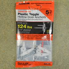 toggler ta hollow 1 4 plywood wall anchors 5pcs