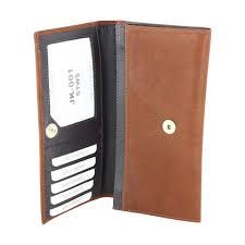 jacaru kangaroo leather las wallet coin purse stonewash
