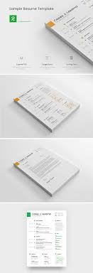 Free Simple Yet Elegant Resume Template For Graphic Designer Front