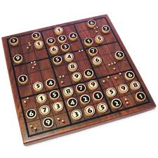 Wooden Math Games Wooden Sudoku i know it's nerdy but i need this For the Home 11