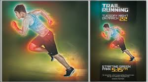 how to make a sports flyer make futuristic color sport flyer in photoshop youtube