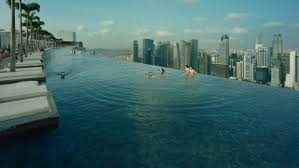 infinity pool singapore edge. The Infinity Pool Stretches 150 Metres Across Cantilevered Structure. Singapore Edge U