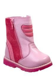 Ботинки <b>утепленные</b> для девочек <b>Зебра</b>, цвет: розовый. 11191-9 ...