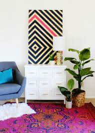 hi friends we are so excited to be partnering with scotchblue painter s tape from 3m to bring you this shockingly simple big impact wall art that will