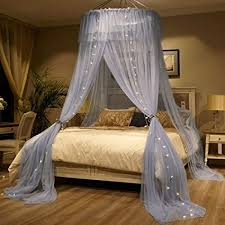 Amazon.com: Mosquito Net Bed Canopy For 1.2-2m Bed Fly Insect ...