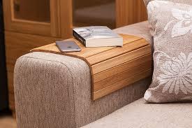 Industrial Fan Coffee Table Amazoncom Sofa Tray Table Oak Wooden Tv Tray Wooden Coffee