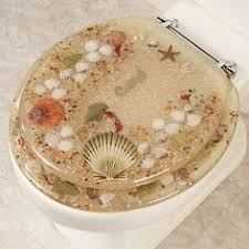 gold foil toilet seat. jewel shell toilet seat gold foil