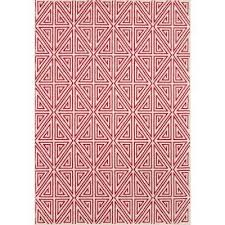 baja red 2 ft x 5 ft indoor outdoor area rug