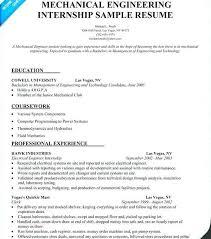 mechanical sample resume mechanical engineer resume examples emelcotest com