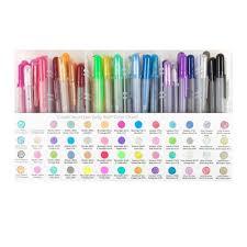 64 Pens Sakura Gelly Roll Artists Set Sakura Gel Pens Gelly Roll Art Set Sakura Gelly Roll Pens Sakura Coloring Gel Pens Markers