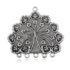 tibetan style alloy chandelier components links 1 5loops antique sil