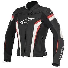 alpinestars stella gp plus r v2 womens leather jacket black red motorcycle accessories australia scm