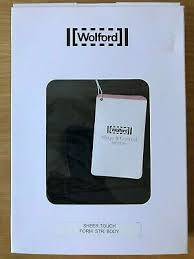 Wolford Bra Size Chart Wolford 79094 Sheer Touch Forming String Body Uk10 Eu 38 C Cup Black New Ebay