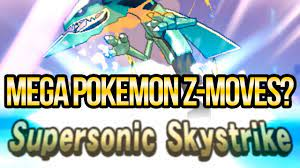 Can Mega Pokemon Use Z-Moves in Sun and Moon