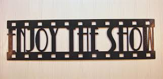 Small Picture 8 Movie Theater Wall Art Details About Metal Wall Art Decor Home