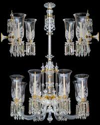 a exceptional victorian chandelier and pair of wall lights by f c osler
