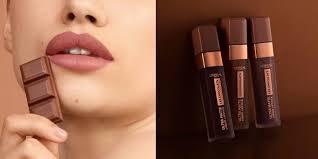 chocolate scented liquid lipsticks