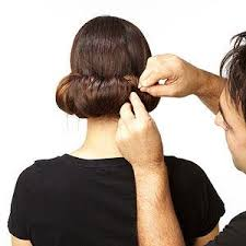 downton abbey updo step 5