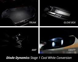 2015 Mustang Map Light Replacement Diode Dynamics Interior Light Kit For 2015 Ford Mustang
